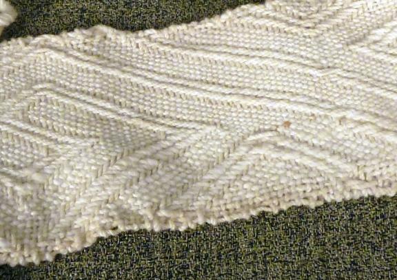 woven belt detail
